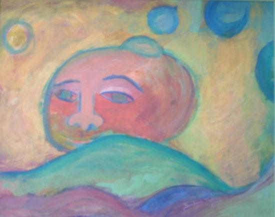 Painting by Barbara Thomas